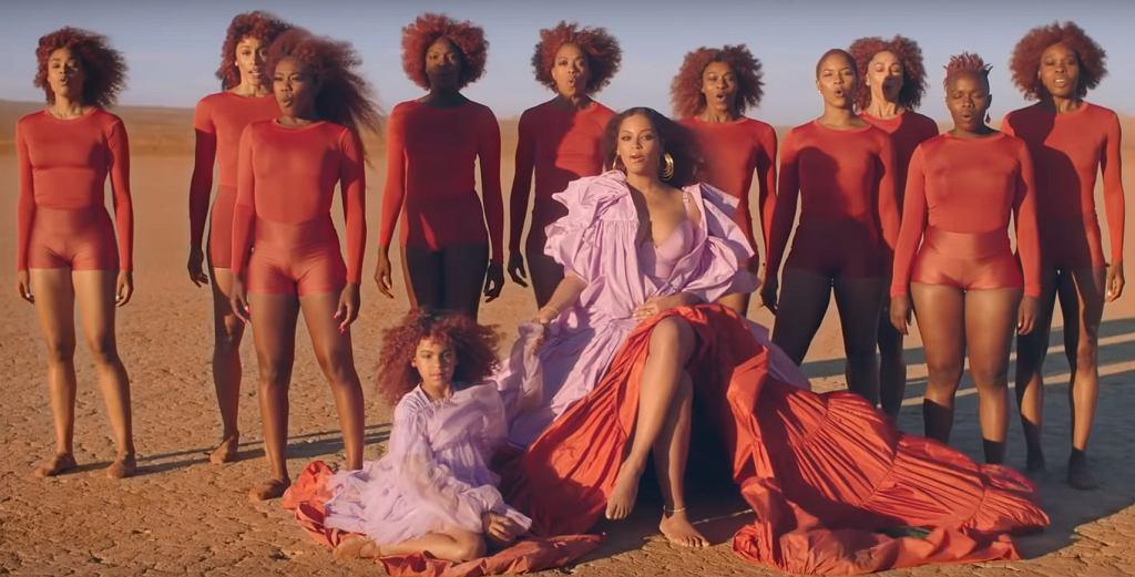 kadr z teledysku 'Spirit' Beyoncé