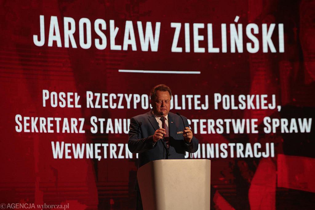 Kielce, 27 września 2018. Targi Kielce. Gala Straży Pożarnej 2018. Jarosław Zieliński