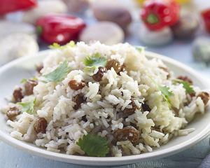 Karaibski ryż z kokosem