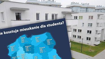 Ile kosztuje mieszkanie dla studenta?