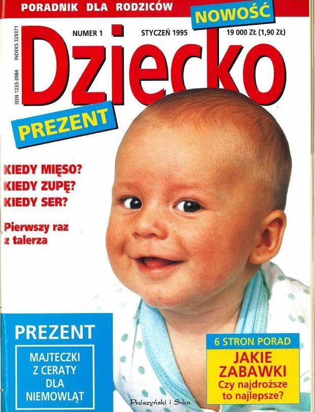 """Tak wyglądał pierwszy numer magazynu """"Dziecko"""". W kioskach znajdziecie ostatni"""