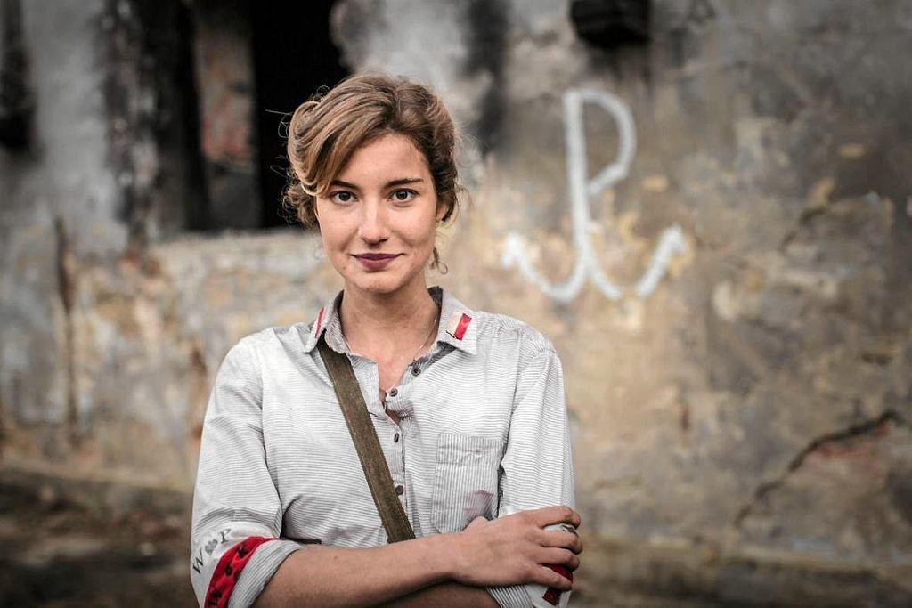Kadr z filmu 'Kartka z Powstania'