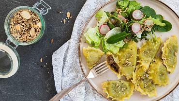 Pierogi z soczewicą. Smaczne i pożywne danie nie tylko dla wegetarian. Zdjęcie ilustracyjne