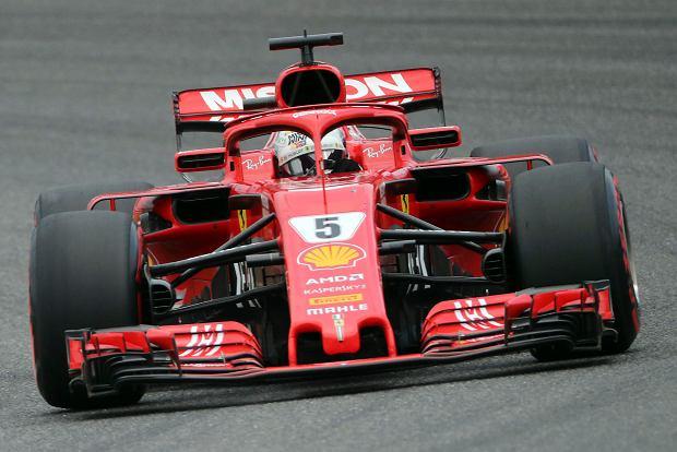 F1. GP Japonii. Vettel: Verstappen ponosi pełną odpowiedzialność za incydent w Spoon