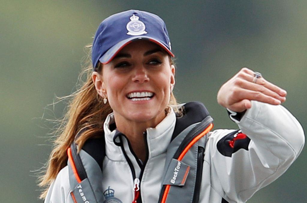 Księżna Kate na regatach