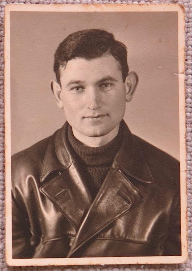 Noach Lasman ok. 1945 r.