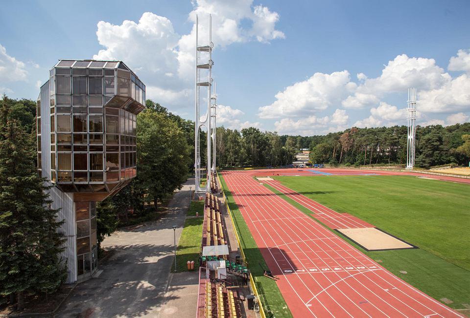 Wyremontowany stadion lekkoatletyczny na Golęcinie