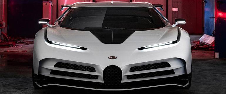 Bugatti Centodieci - prezent na urodziny i hołd dla EB110