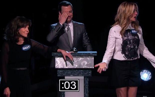 Sally Field, Jimmy Kimmel i Julia Roberts