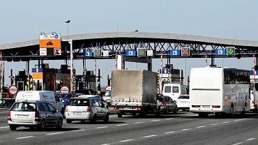 Balice: bramki na autostradzie A4