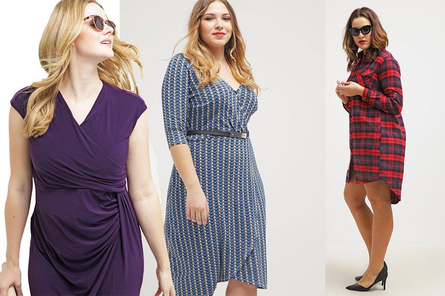 f5b6be17 Idealne sukienki na duże rozmiary - jakie fasony wybierać, by ...