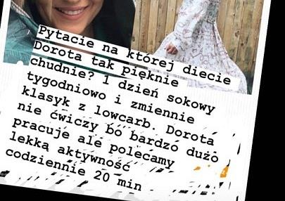 Dieta Doroty Szelągowskiej