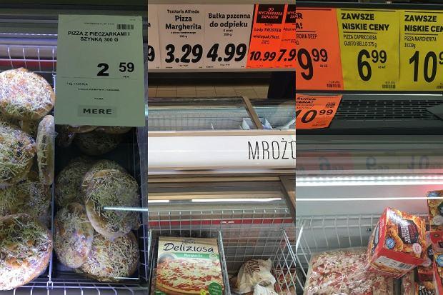 Ile kosztuje mrożona pizza w Lidlu?