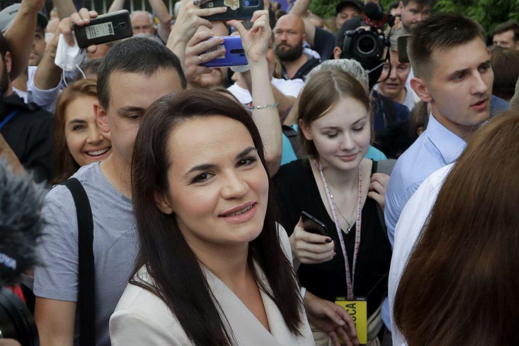 Swiatłana Cichanouska ma ogłosić się prezydentem Białorusi