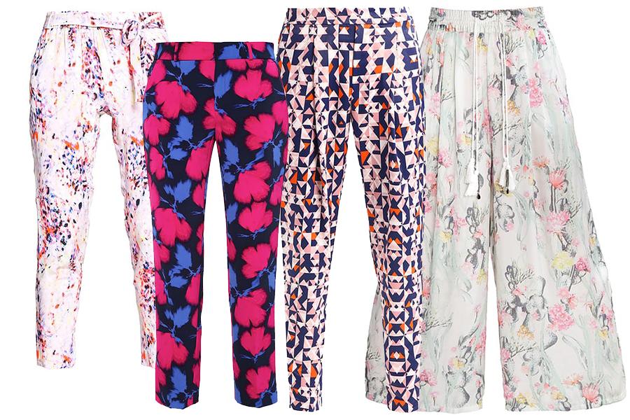 Spodnie we wzory - dla kogo?