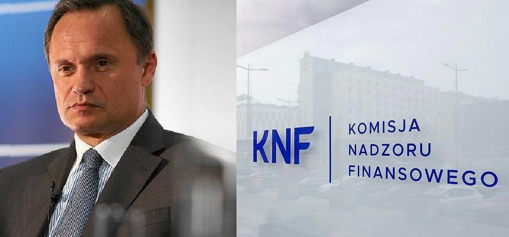 Leszek Czarnecki twierdzi, że dostał korupcyjną propozycję od szefa KNF. Ten zaprzecza