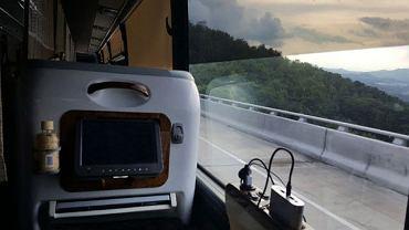 Luksusowy autokar zabierze pasażerów z Delhi do Londynu