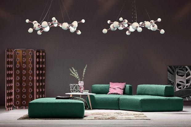 Oświetlenie: lampy w kształcie kul