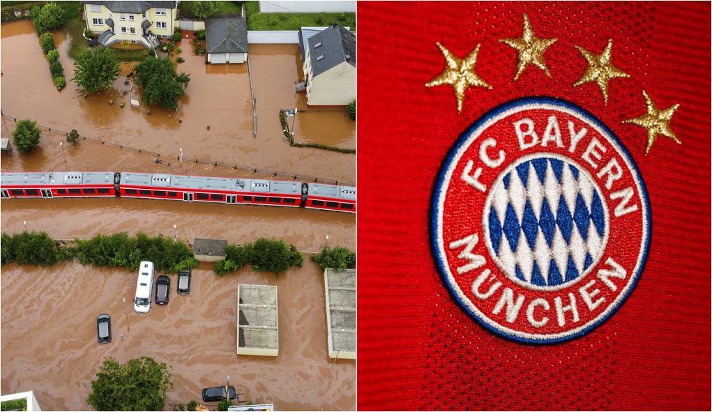 Bayern Monachium pomaga ofiarom powodzi