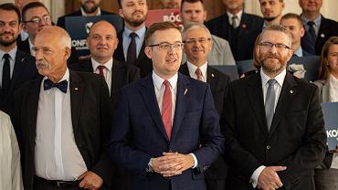 Liderzy Konfederacji, Robert Winnicki, Janusz Korwin-Mikke, Grzegorz Braun