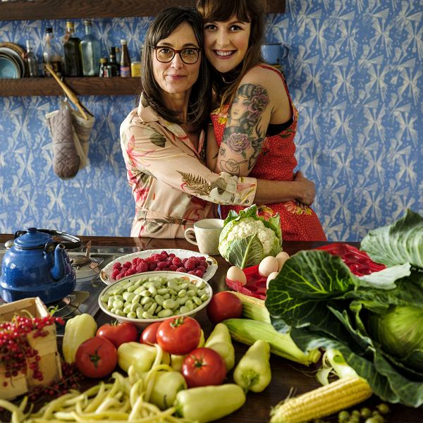 Kasia i Zosia Pilitowskie, autorki książki kulinarnej 'Jajko'
