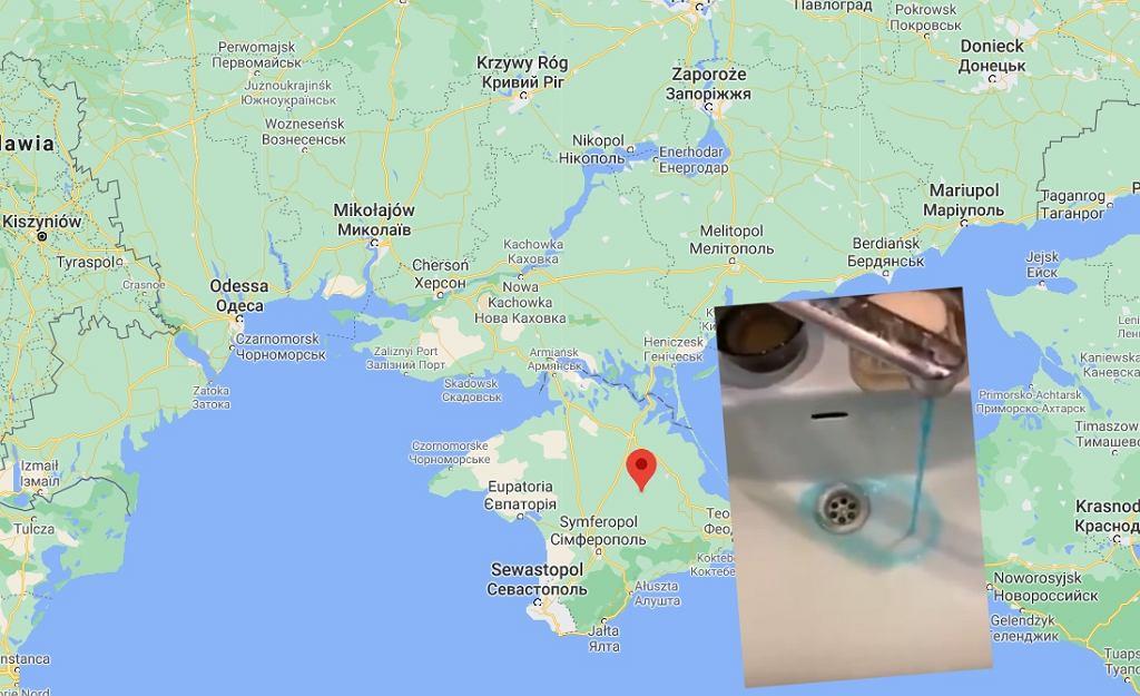 Wstrzymano dostawy wody na Krym