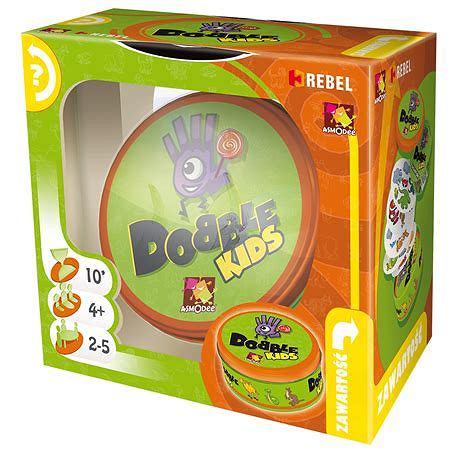 Dobble Kids - dynamiczna gra w wersji dla najmłodszych
