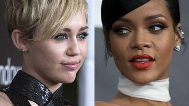 Miley Cyrys i Rihanna