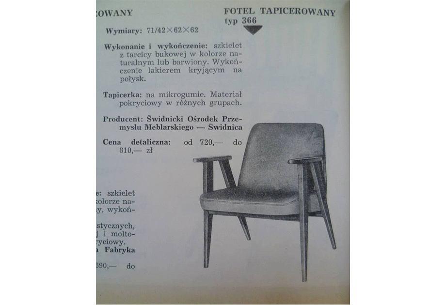 Fotel Józefa Chierowskiego