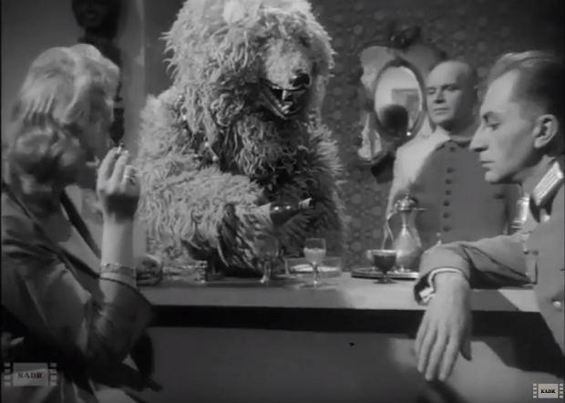 'Biały niedźwiedź' (1959), reż. Jerzy Zarzycki