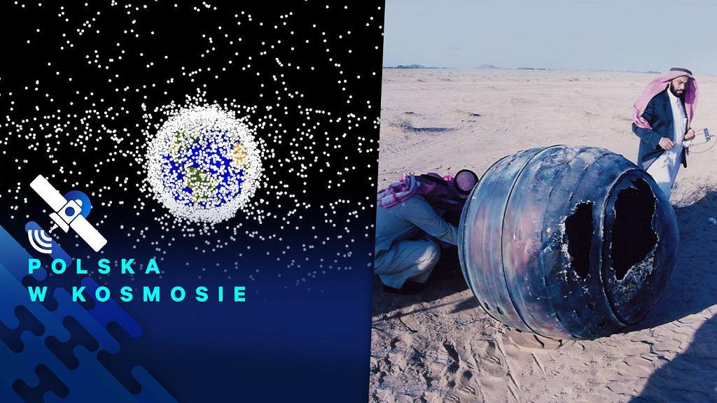 Śmieci na orbitach wokół Ziemi to coraz większy problem