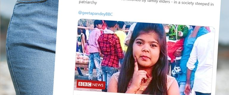 Indie. Rodzina zabiła 17-latkę za noszenie jeansów. Krewni okładali ją kijami