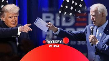 Wybory prezydenckie w USA. Donald Trump zmierzy się z Joe Bidenem.