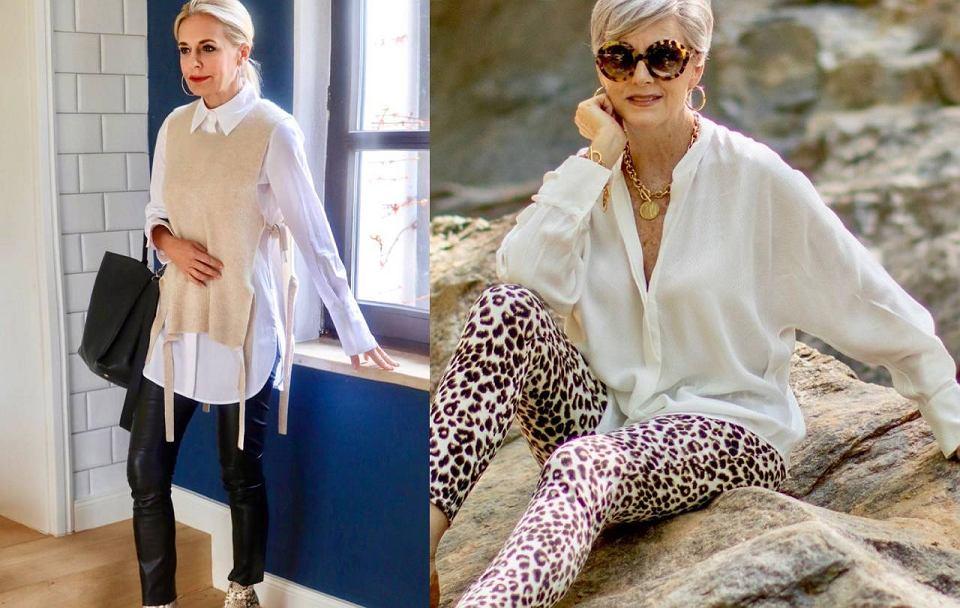 Eleganckie ubrania dla kobiet po 50-tce, koszule