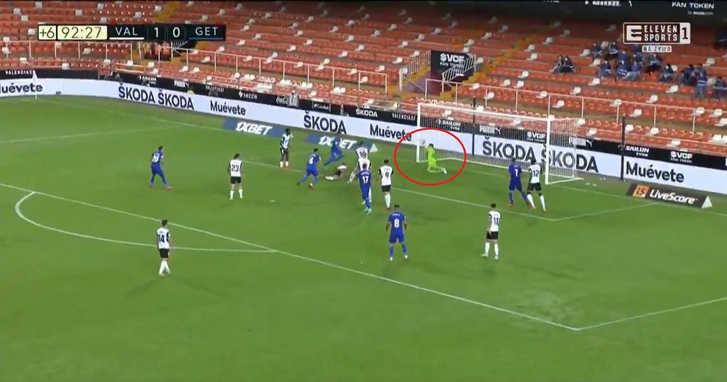 Giorgi Mamardaszwili bohaterem meczu Valencia - Getafe