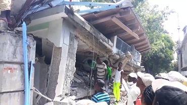 Haiti nawiedziło trzęsienie ziemi o magnitudzie 7,2
