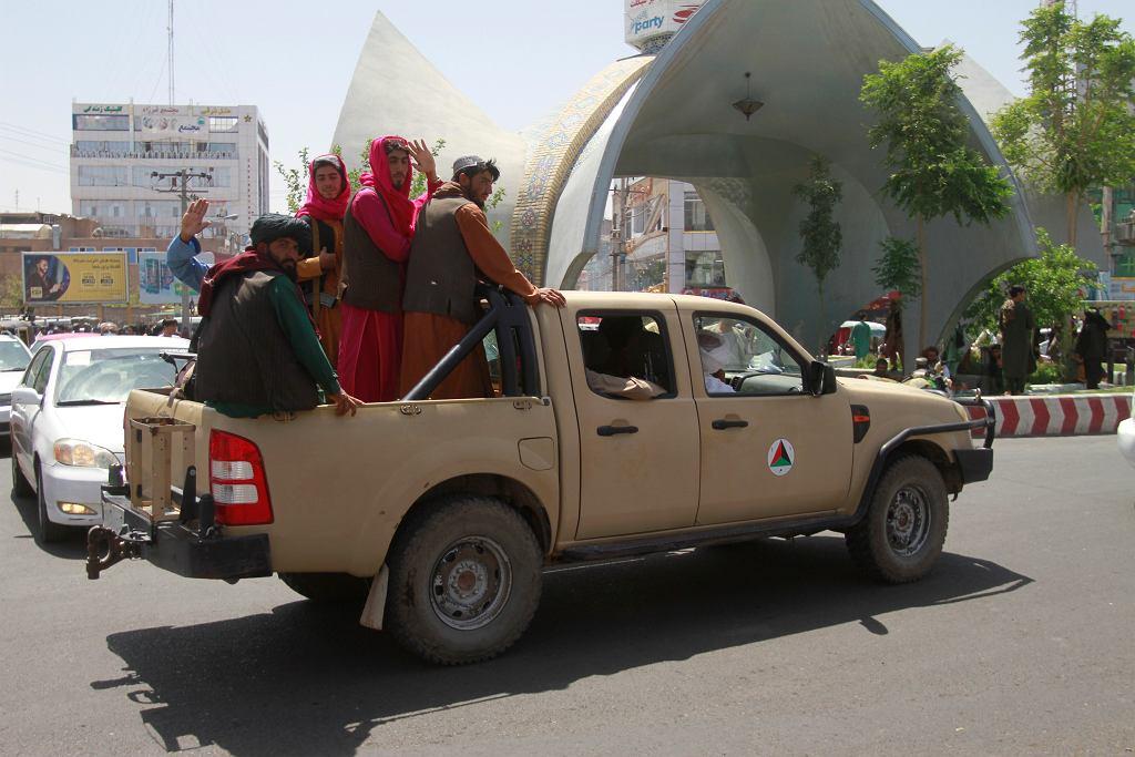 Talibowie w Kabulu