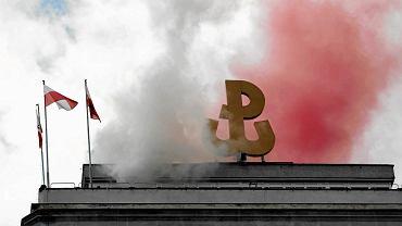 8aedd0bc26 Znak Polski Walczącej w logo liceum mundurowego. Czy to nadużycie