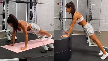 Alexia Clark - trening