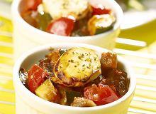 Zapiekane warzywa z kozim serem - ugotuj