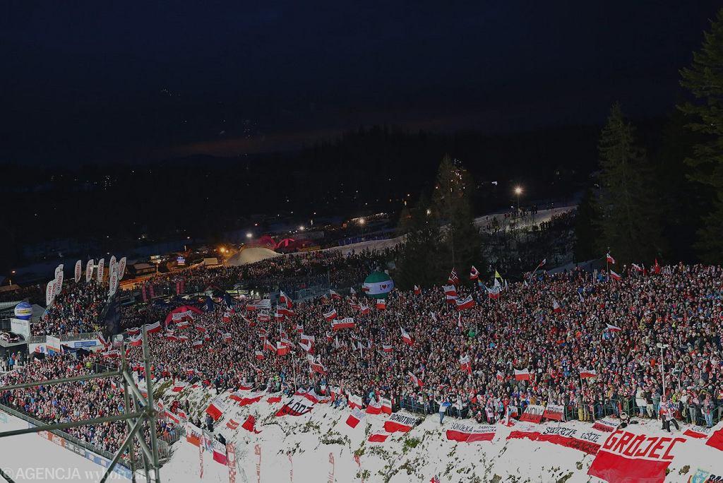 Zakopane, Wielka Krokiew. Konkurs indywidualny Pucharu Świata, 28 stycznia 2018.