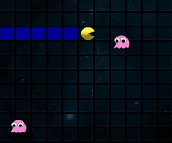 Pac-Man w nieco innej wersji...