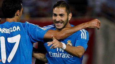 Radość zawodników Realu Madryt