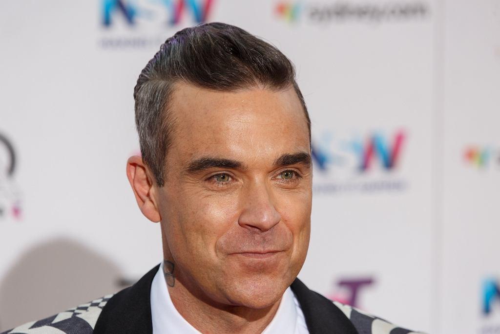 Robbie Williams na rozdaniu nagrd ARIA