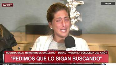 Zrozpaczona siostra Emiliano Sali