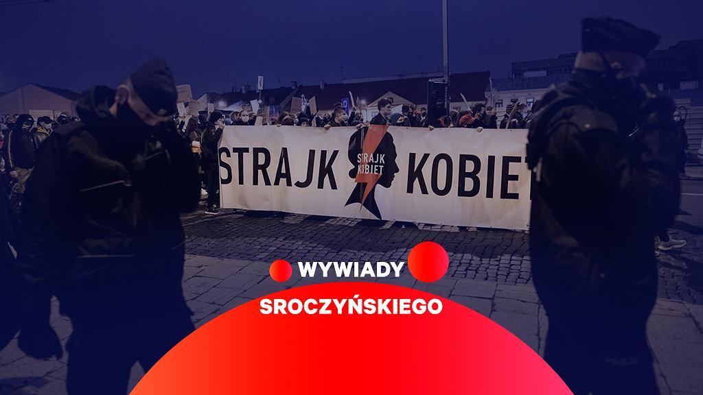 Strajk kobiet - zdjęcie ilustracyjne