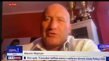 Marcin Najman w nowej roli. W rozmowie z TVP Info mówił o wyborach w USA
