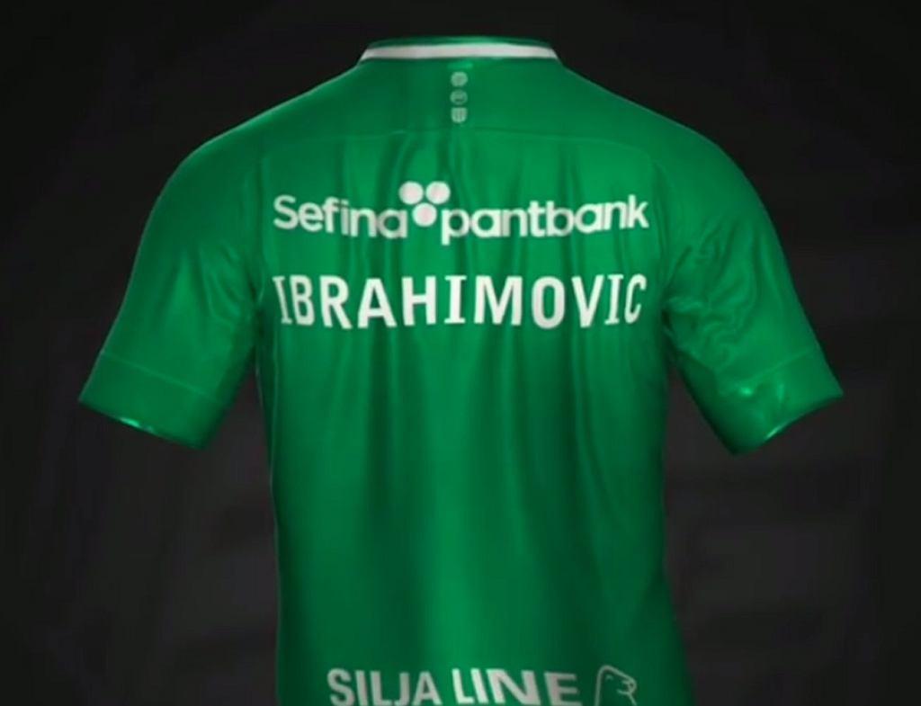 Koszulka Hammarby IF z nazwiskiem Ibrahimovicia