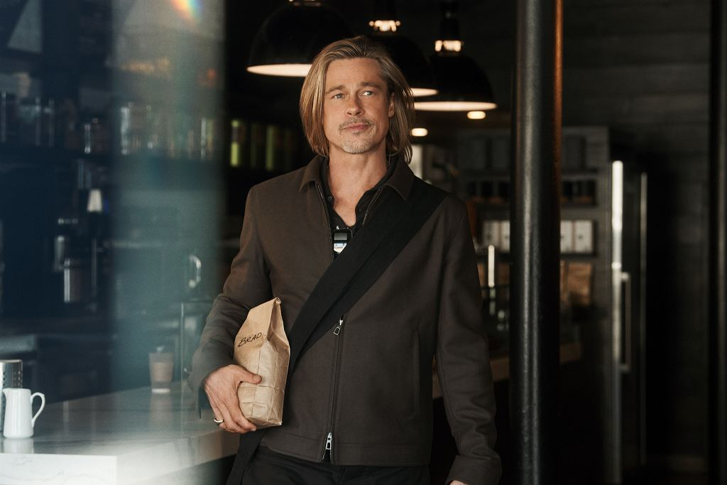 Brada Pitt, który został ambasadorem kampanii marki De'Longhi.