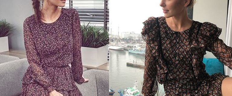 Paulina Sykut i Anna Wendzikowska w delikatnych sukienkach tej samej marki!